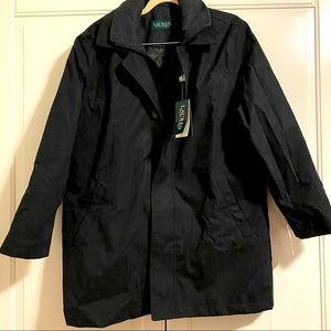 Mens Ralph Lauren rain coat short 40